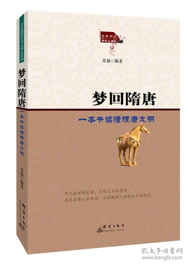 梦回隋唐:一本书读懂隋唐文明