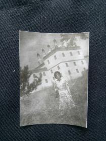 摩登女郎 应为八十年代 老照片