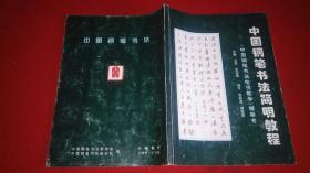 中国钢笔书法简明教程(电视教学辅导书)