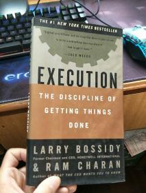 英文原版 Execution: The Discipline of Getting Things Done
