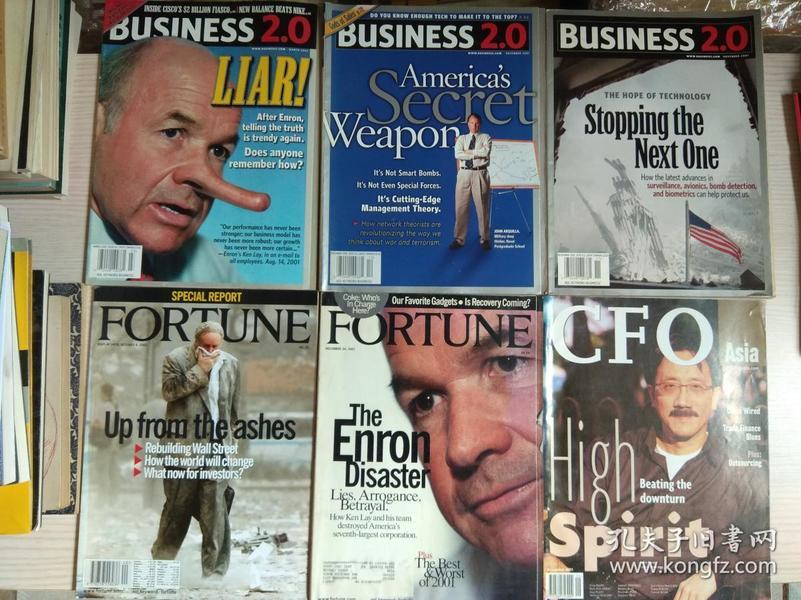 外文原版  英文版杂志 FORTUNE、BUSINESS 等(6本)