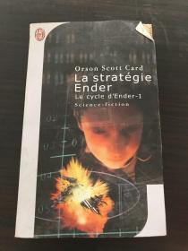 外文原版 Orson Scoutt Card La strategie Ender