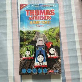 电影动画片:托马斯和他的朋友们(1-7季完整版)7张DVD【未拆封】
