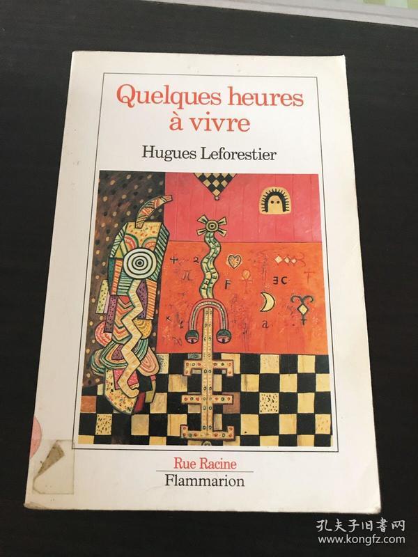 Quelques heures A vivre Hugues Leforestier