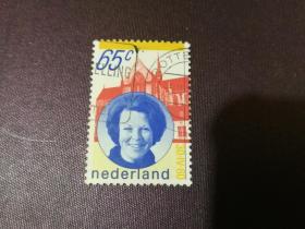 荷兰1980年《贝娅特里克丝女王》1枚全(信销票)