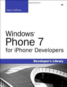 9780672334344Windows Phone 7 for iPhone Developers