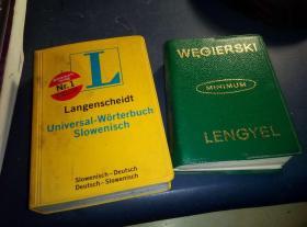 匈牙利语波兰语词典 匈牙利语词典 波兰文版 ,匈牙利语和波兰语对照,收词1万,照片里右边那本绿色的!和国内的 匈牙利语汉语词典 差不多