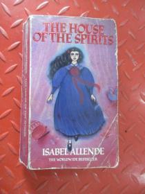 英文 THE  HOUSE  OFTHE  SPIRITS   ISABEL  ALLENDE   共490页