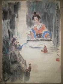 傅小石小幅写意人物