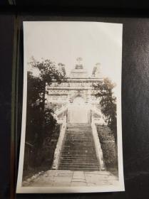 民国北京寺庙建筑老照片一张