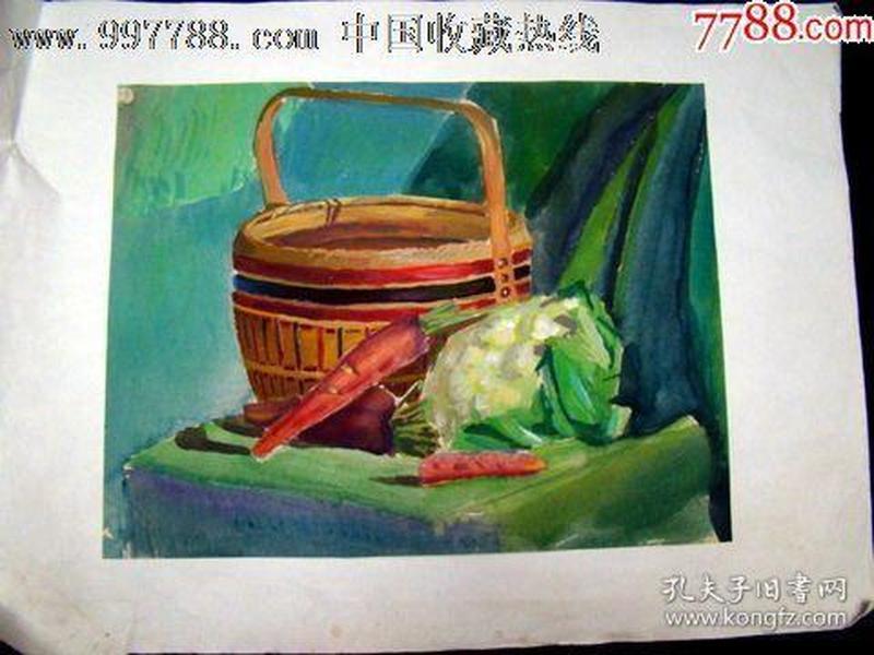 静物油画(34.5*26.5)
