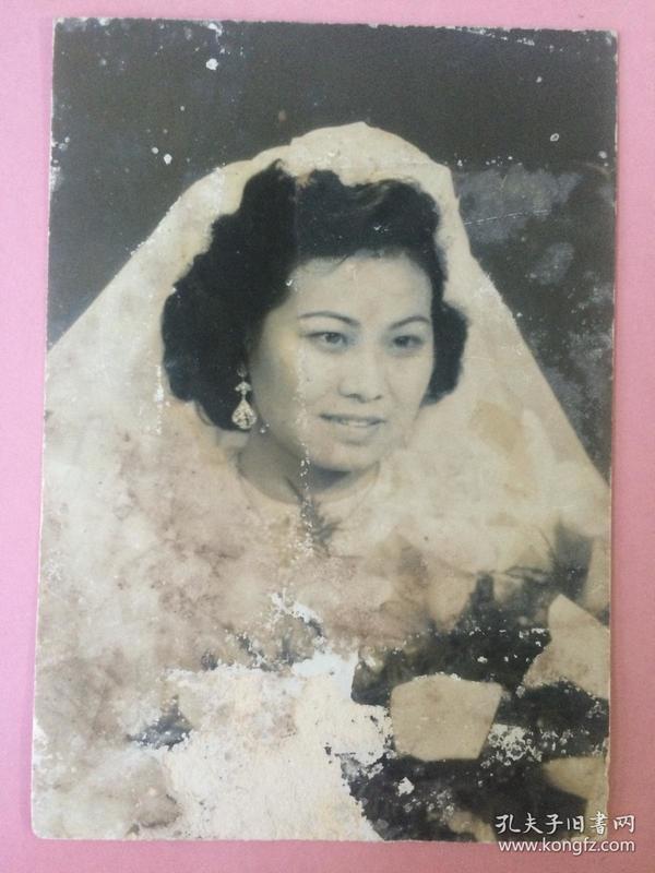 照片,民国美女结婚照2
