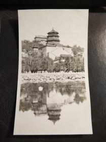 民国北京颐和园建筑物照片一张