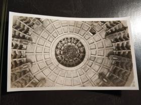 民国北京天坛屋顶老照片一张