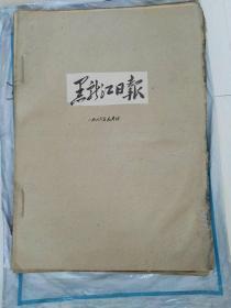 黑龙江日报(1966年1月合订本)