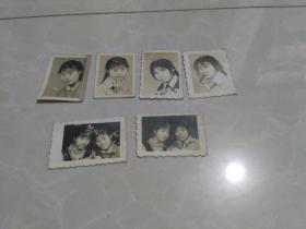 六张美女老照片