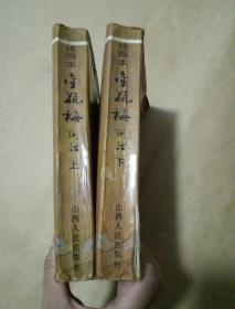 绘画本金瓶梅词话(上下册)