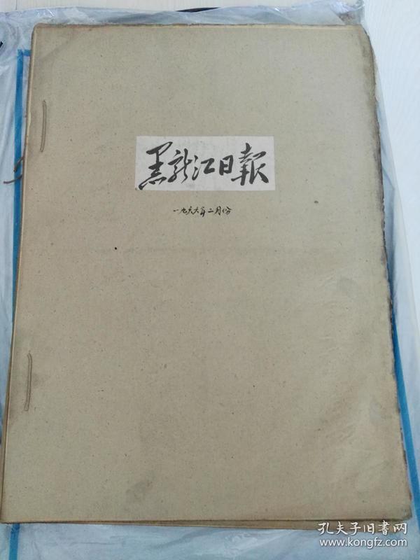 黑龙江日报(1966年2月合订本)