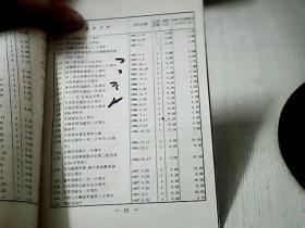 中华人民共和国邮票价目表1997