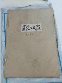 黑龙江日报(1966年5月合订本)