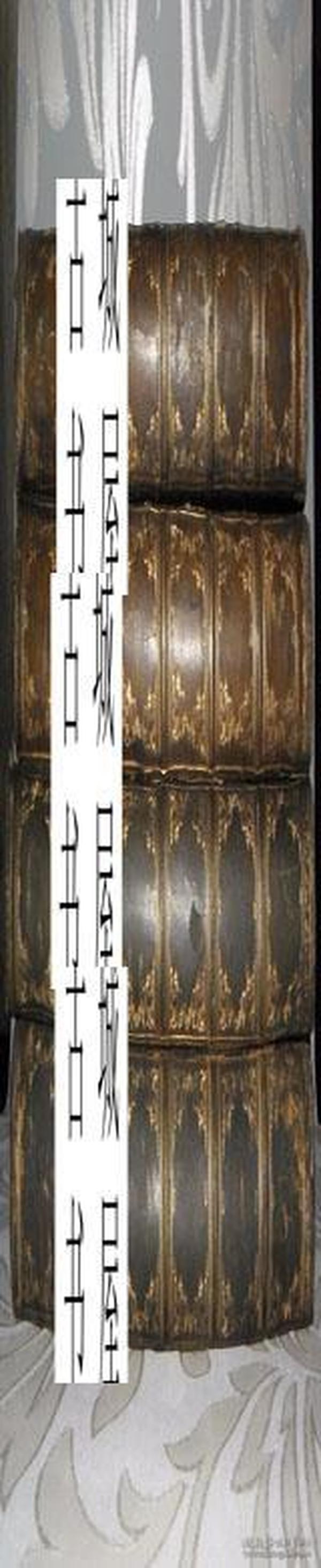 稀缺,《伦敦喧闹的庆祝,1889/1894/97/98》4卷,大量黑白插图,精装