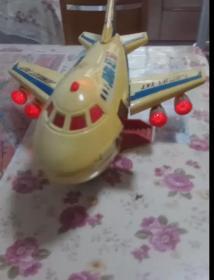 八十年代童年怀旧老玩具 空客CS747大飞机