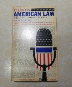 TALKS ON AMERICAN LAW(论美国法 名家藏书)