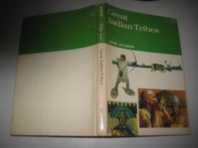英文原版    GREATINDIAN  TRIBES(16 开精装 )