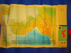 55010023朝鲜地图