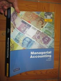 Managerial Accounting ..       【詳見圖】
