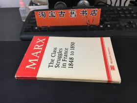 MARX the class struggles in france 1848 to 1850