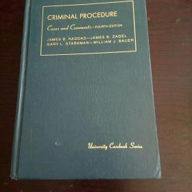CASES AND COMMENTS ON CRIMINAL PROCEDURE(刑事诉讼案件和评论)