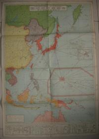 "Map of Invasion of China in 1932 ""Imperial Defense Map"" with a list of armaments of various countries (Republic of China's total military force of 2 million) Chinese naval strength (cruiser destroyer torpedo boat) Diaoyu Islands and East China Sea identification area important basis-East China Sea"