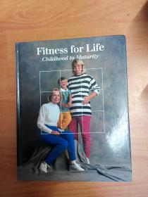 英文原版书:Fitness for life: Childhood to maturity (Fitness, health & nutrition) 从小到大健康生活(16开精装)