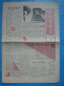 《少年文史报(小学版)》1989年11月18日。领袖为雷锋题词!开封龙亭。