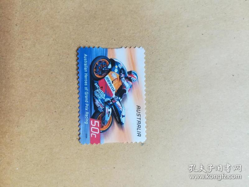 外国邮票 澳大利亚邮票澳大利亚大奖赛  1枚(乙5-4)