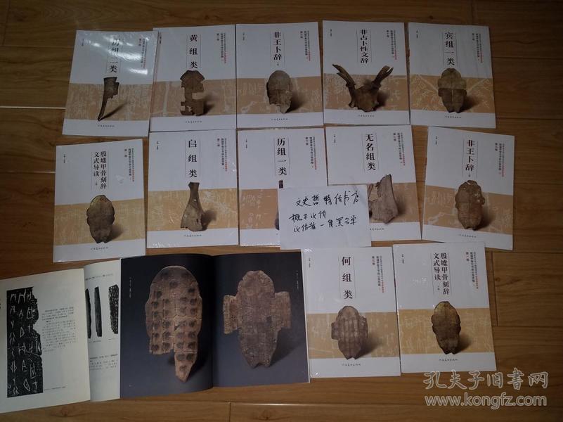 殷墟甲骨文书体分类萃编(16开 全十四册)