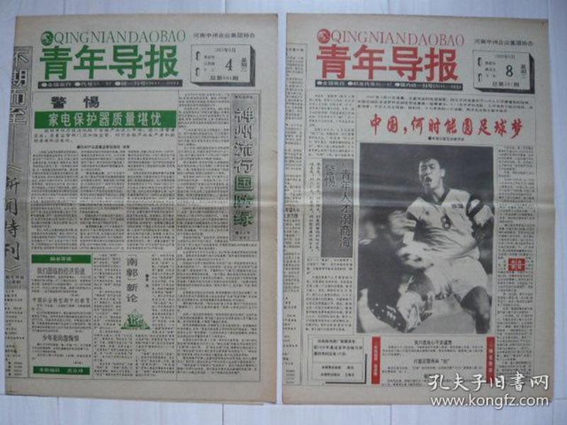 《青年导报》1993年5月4日、6月8日,癸酉年闰三月十三、四月十九,共两期。