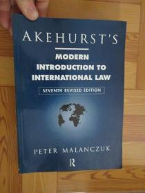Akehursts Modern Introduction to International Law        (详见图)         16开