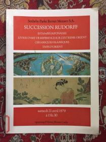 SOTHEBY PERNET MONACO S.A.SUCCESSION RUDORFF