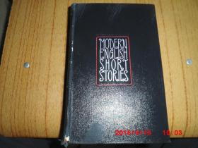 MODERN ENGLISH SHORT STORIES(现代美国短篇小说)