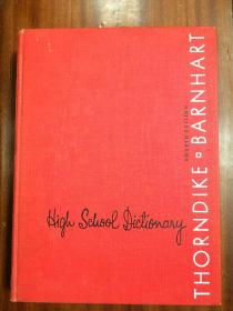 美国进口原装辞典  桑代克中学词典第4版THORNDIKE BARNHART HIGH SCHOOL DICTIONARY