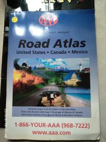 ROAD ATLAS United States Canada Mexico(地图集)2006