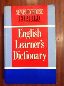 外文书店库存全新无瑕疵 英国进口原版词典  NEWBURY HOUSE  COBUILD  ENGLISH LEARNER'S DICTIONARY 第一版