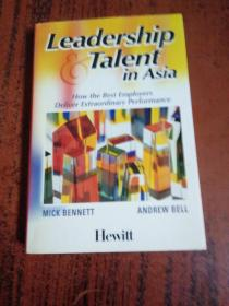 英文原版 Leadership and Talent in Asia: How the Best Employers Deliver Extraordinary Performanc