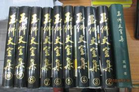玉佛丈室集(10本一套全,精装,1996年一版一印)