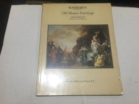 苏富比 1985  油画 图录
