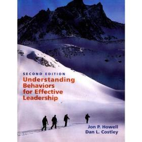 正版包邮n1/Understanding Behaviors for Effective Leadership/9780131484528/M15-1