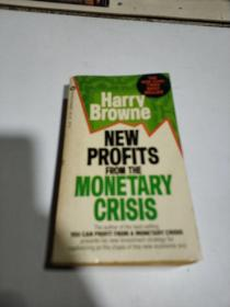 NEW PROFITS FROM THE MONETARY CRISIS(英文)书中间开裂