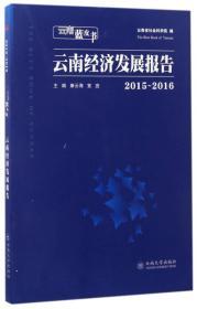 20152016云南经济发展报告云南蓝皮书